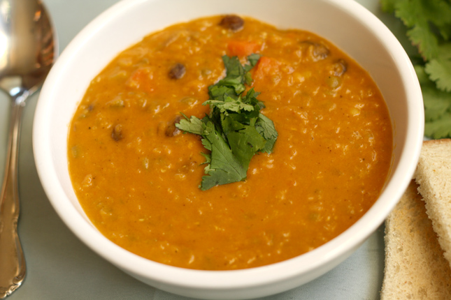 Red Lentil Coconut Curry Soup Recipe | Carpé Season