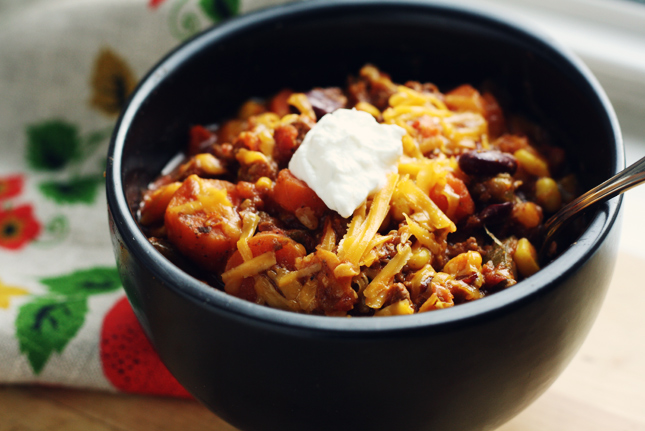 Hearty Canadian Chili