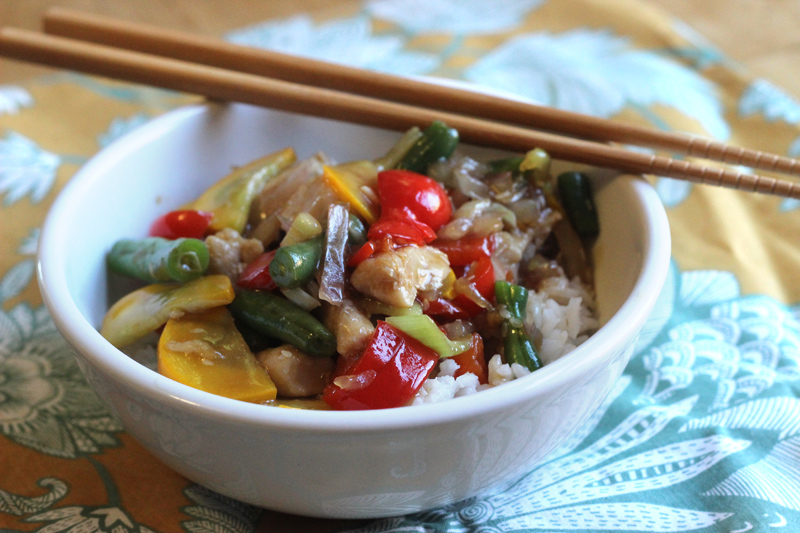 (Vegetable-licious) Stir Fry with Homemade Stir Fry Sauce