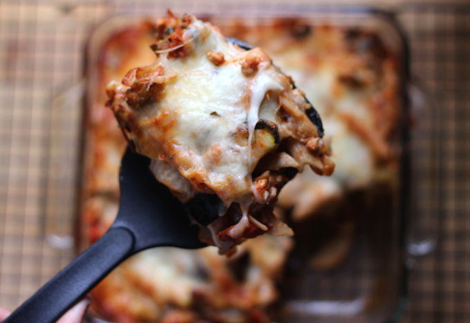 Roasted Vegetable Cheesy Pasta Bake