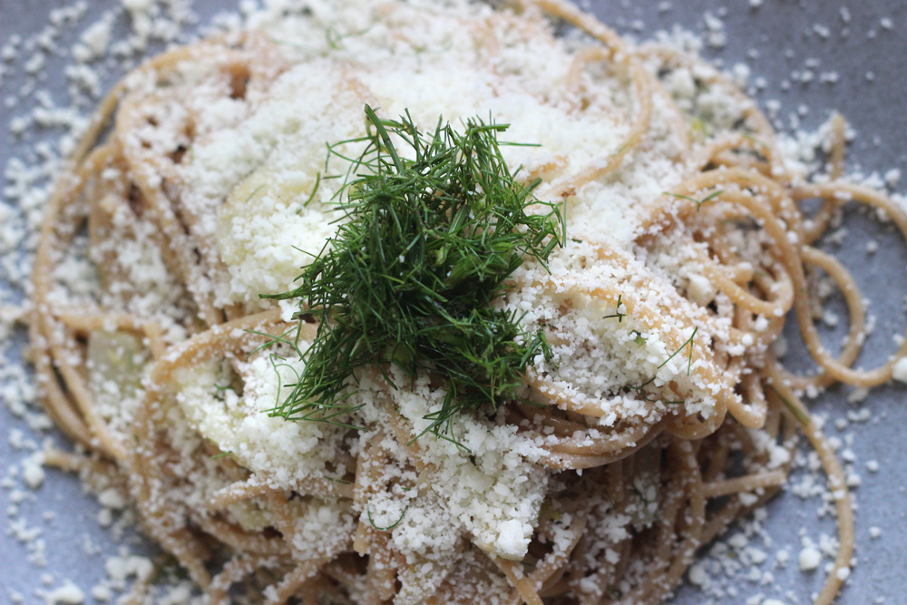Caramelized Fennel Pasta