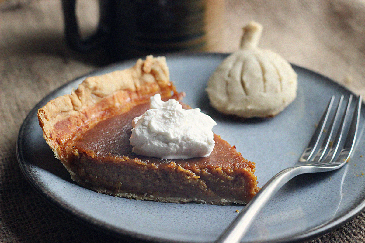 Homemade Pumpkin Pie from Scratch