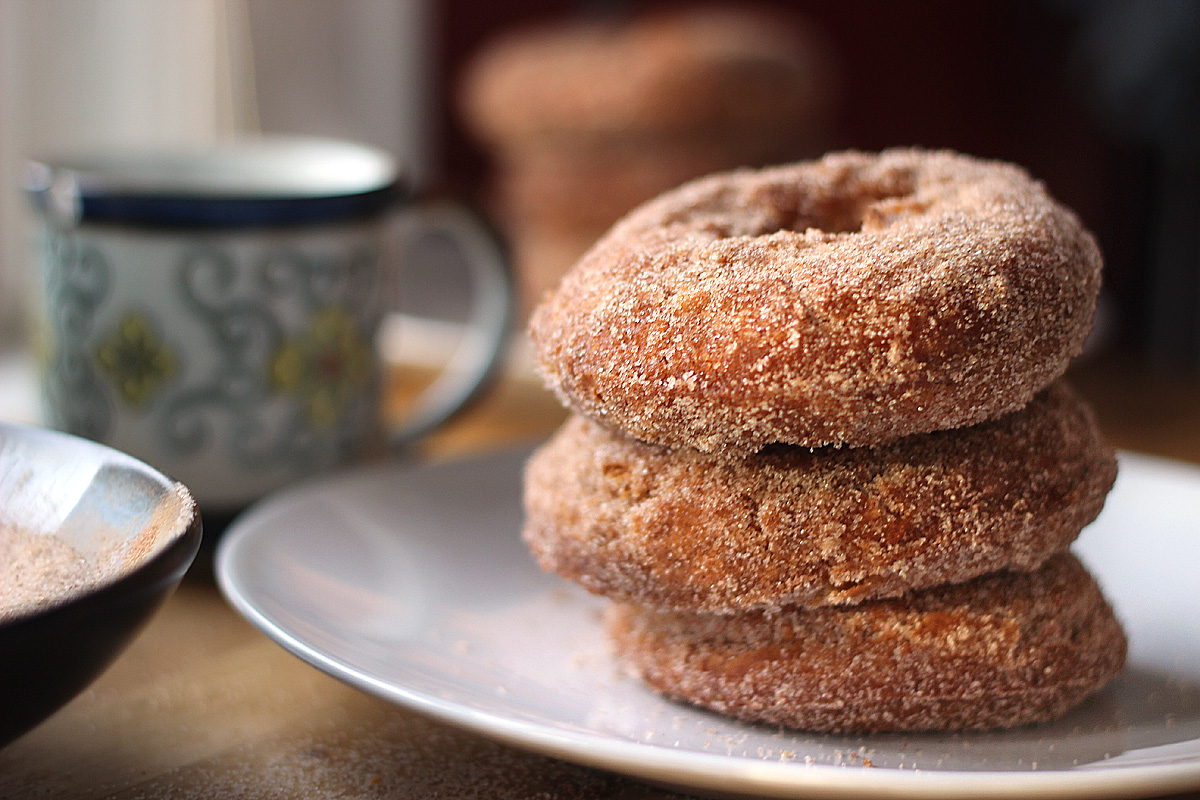 Apple Cider Doughnuts | Carpé Season