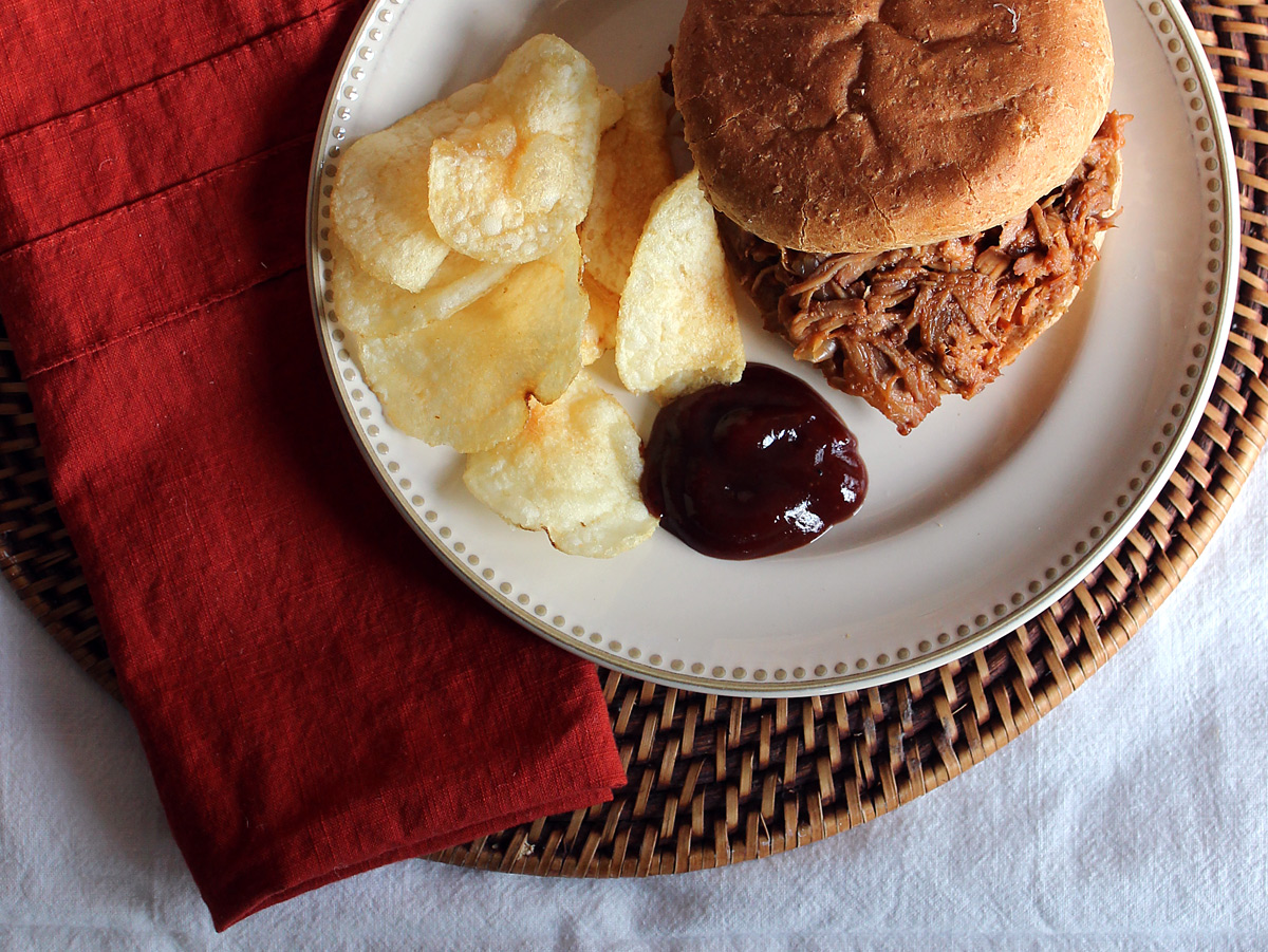 Pulled Pork Rib Sandwiches