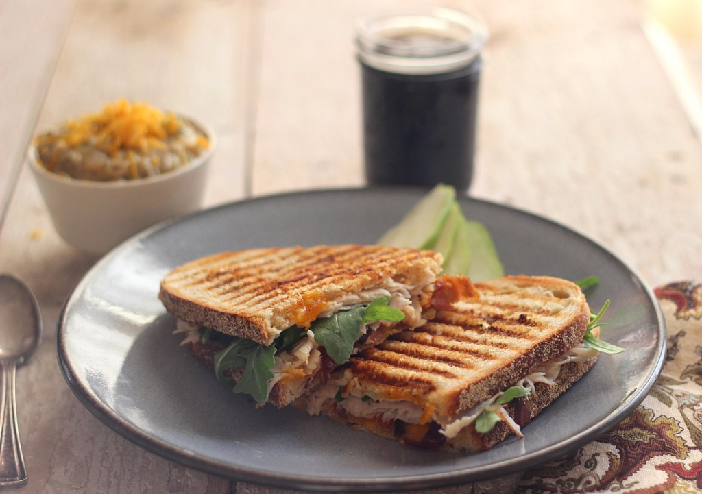 Easy Turkey Panini