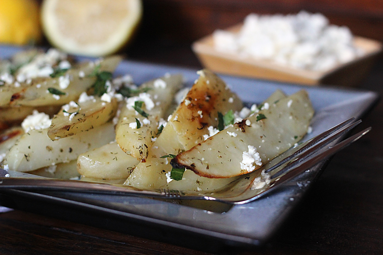 Roasted Greek Potatoes