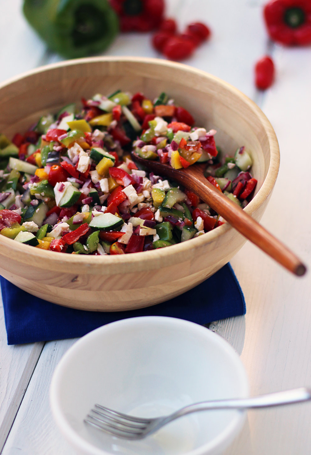 Greek Pepper Salad