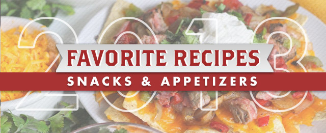Favorite Recipes of 2013 - SNACKS