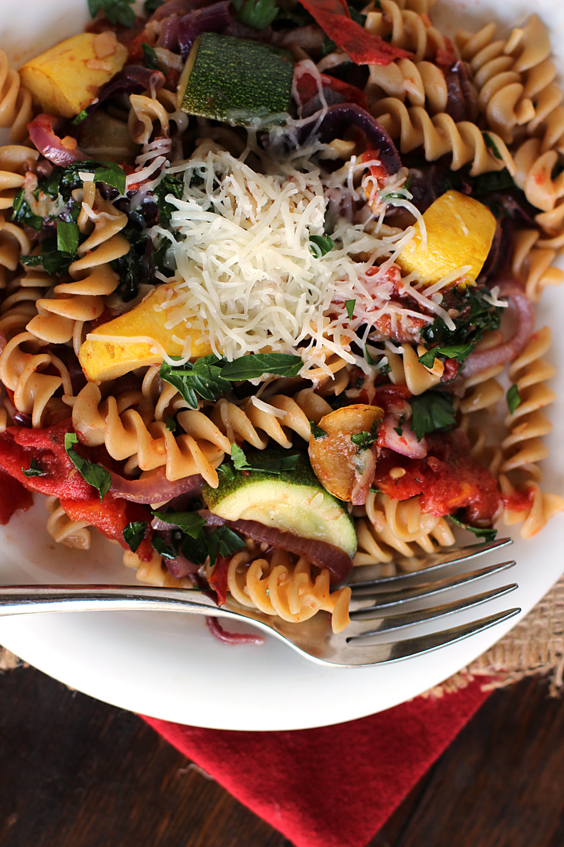 Roasted-Tomato-&-Summer-Squash-Pasta