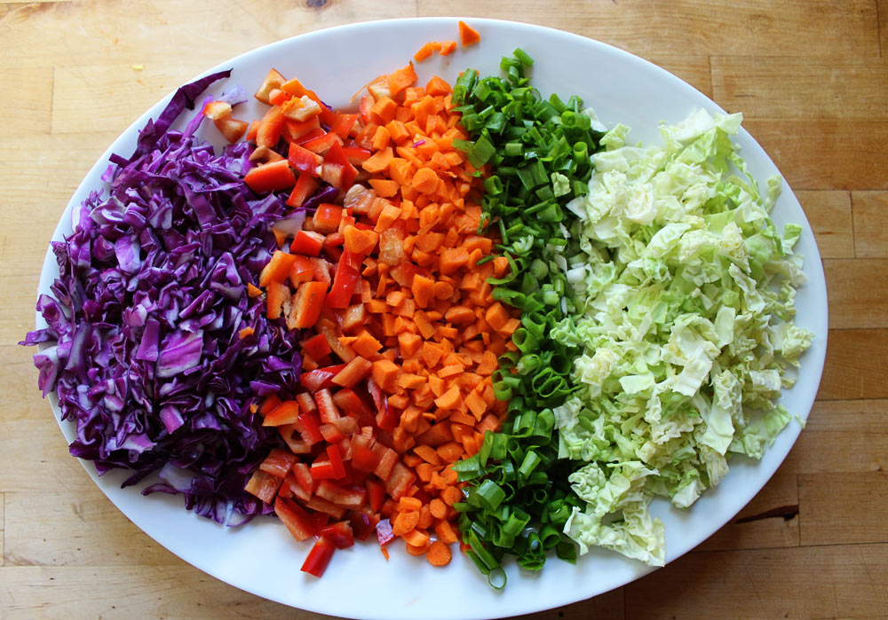 Simple Asian Cabbage Slaw
