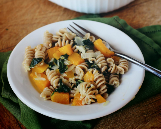 Pasta with Roasted Squash