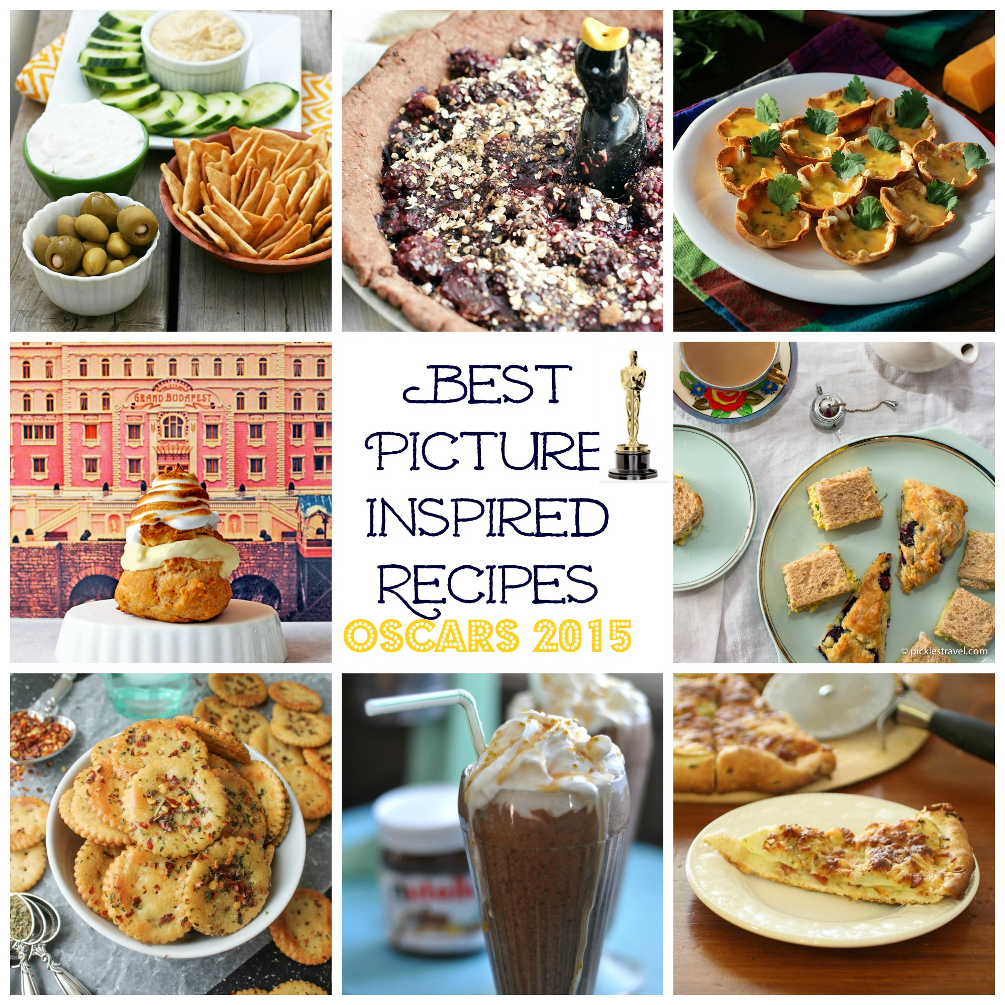 Oscars 2015 Best Picture Inspired Recipes